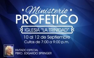 MINISTERIO PROFETICO